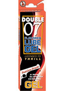 Double 07 Flavored Lube Gel Passion Fruit