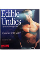 Edible Undies Male Brief Pink Champagne Flavored (1 Pack)